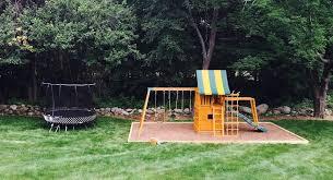 Trampoline Backyard Backyard Upgrades Top 10 Installations From 2016 Best In Backyards