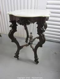 antique marble top pedestal table black marble top renaissance style console table liveauctioneers