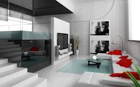 Chrome Floor L Apartment Modern Minimalist Apartment Interior Design With L