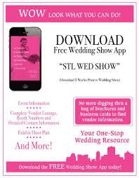 wedding show u2013 st louis bride and groom