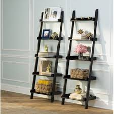 Bookcases Under 100 Leaning Bookcases You U0027ll Love Wayfair