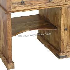 Sheesham Computer Desk Jali Computer Desk Sheesham Wood Desk By Furniture Supplies Uk Gb