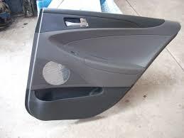 2011 2012 2013 2014 hyundai sonata right rear door trim panel oem