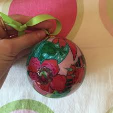 lilly pulitzer lilly pulitzer ornament from