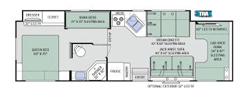 Coachmen Class C Motorhome Floor Plans 2017 Four Winds 31e Bunkhouse Class C Motorhomes New Class C