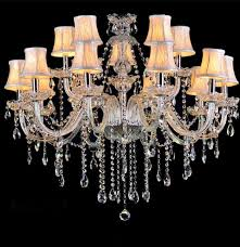 crystal l shade chandelier l shades for chandeliers multiple chandelier fabric shade glass