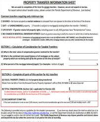 Property Information Sheet Template 27 Information Sheet Templates In Word