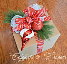 diy christmas decorations with boxes celebrate u0026 decorate