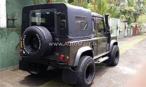 jeep defender for sale automart lk registered used land rover defender jeep for sale at