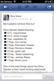 olive garden salad dressing recipe misc recipes pinterest