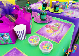 Barney Party Decorations Barney Themed Party Cape Town The Party B Kids Party Set Ups