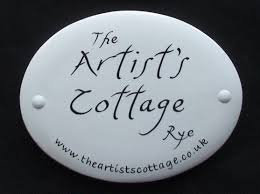 hand painted house signs by ceramic art more this week u0027s house