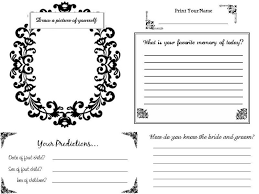 wedding guest book pages diy guestbook files anybody diy forum passport invitation