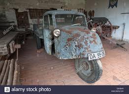 Bad Windsheim Freilandmuseum Alten Dreirädrigen Van Aus Den 1930er Jahren Freilichtmuseum
