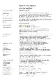 Hairdresser Resume Good Personal Statement On Cv Examples