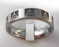 celtic rings meaning men s knot celtic titanium ring love2have in the uk