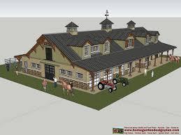 home garden plans horse barns