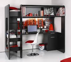 lit superposé avec bureau pas cher lit enfant mezzanine avec bureau fashion designs