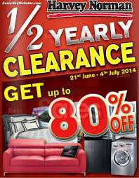 21 jun 4 jul 2014 harvey norman malaysia mid year clearance sale