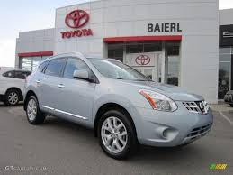 grey nissan rogue 2011 frosted steel metallic nissan rogue sv awd 52687780