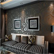 qihang modern luxury abstract curve 3d wallpaper roll mural papel