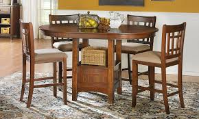 tall dining room sets mission oak counter height dining set haynes furniture