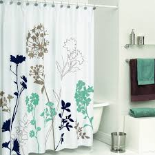 amazon com ds bath silhouette flower shower curtain mildew