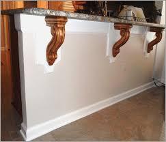 kitchen island with corbels wood corbels for granite countertops bensheppard net