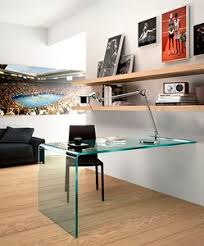 Glass Desk Design Wall Mounted Desk Wall Desk All Architecture And Design