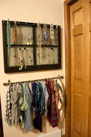 easy hanging scarf organization one hour u0026 20 small stuff counts