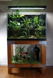 Home Aquarium by Fish Tank Low Aquarium Stand Diy Home Barconsole Table Mac