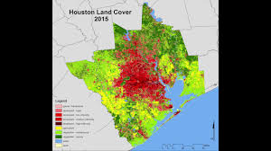 Urban Map Spatio Temporal Dynamics Of Urban Growth In The Greater Houston