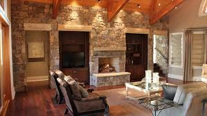 pictures for home interior design livingroom top living room stone wall design