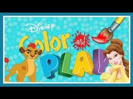 disney junior color play lion guard coloring book