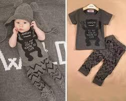 2pcs baby boy t shirt set clothes 3 6 9 12