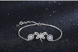 evil eye charm bracelet images Austrian crystal butterfly and evil eye charms bracelet the jpg