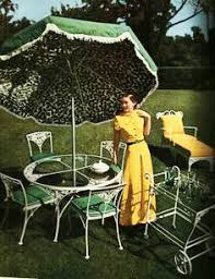 Patio Lawn Chairs Woodard Furniture Ad For House Beautiful Magazine 1948 Vintage