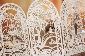 laser cut wedding programs 15 must see lasercut 3d wedding invitations wedding designs