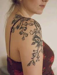 Flowers On Vines Tattoo Designs - floral pattern vine tattoo google search ink pinterest