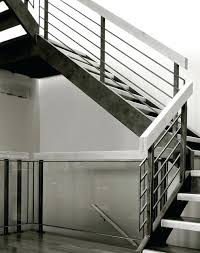 Modern Stair Banister Modern Steel Stairs Modern Metal Stair Handrail See Also Stair