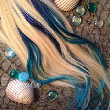 mermaid hair extensions best turquoise extensions products on wanelo