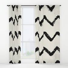 Black Ivory Curtains Distressed Window Curtains Society6