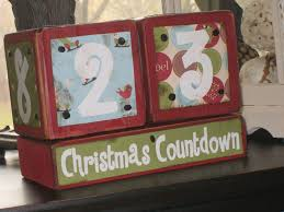 countdown to christmas key craft and holidays