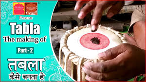 how tabla is made तबल क स बनत ह part 2
