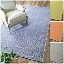 Woven Cotton Area Rugs Woven Cotton Area Rugs Square Blue Zigzag Pattern Minimalist