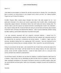 free intent letter templates u2013 22 free word pdf documents