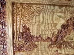 cabin wall decor wood carving wall wood wall cabin