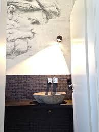 wandgestaltung gäste wc die hafenbewohner ziehen um gäste wc modern gästetoilette