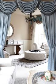 Valance Curtains For Living Room Valance Curtains With Swags And Tails By Celuce Com Traditional