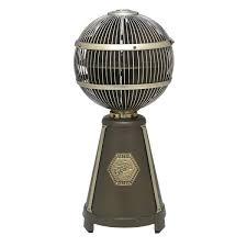 fargo 360 degree desktop fan the green head
